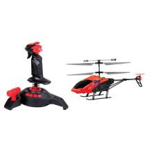Funny LED rc brinquedos 2.4G 3.5CH gyro cope sistema rc brinquedo de madeira de helicóptero FX011