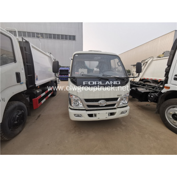 Foton new design light waste collection vehicles