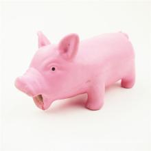 Brinquedos de PVC vinil para cão de porco brinquedos de plástico personalizados