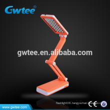 32leds rechargeable solar panel retractable hot sale l table lamp