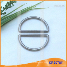 Tamaño interior 35mm Metal Hebillas, Regulador de metal, Metal D-Ring KR5076