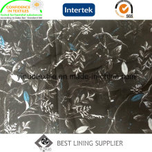 Doublure d'impression 100% polyester avec prix usine direct