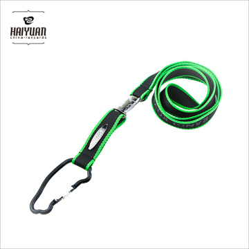 2017 New Food Grade Single OEM Thick Polyester Lanyard in Double Colors for Sale