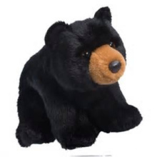 ICTI Audited Factory black bear plush toy