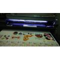 Imprimante numérique de ceinture longue pour l'impression directe de tissus de coton