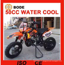 Refroidi à l'eau de la haute qualité 50cc moteur Dirt Bike pour les enfants
