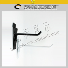 High Quality Metal Power Planting Shelf Black Slatwall Hooks