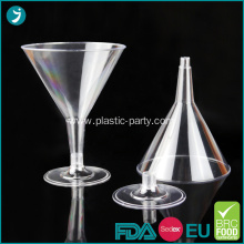 Clear Plastic Martini Glasses 7 oz Disposable