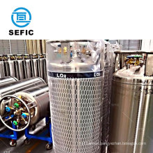 Export To Spain TPED approved 210L 2.88Mpa Liquid Oxygen Cylinder