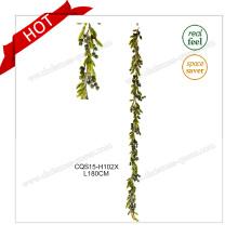 6-7FT décoration de mariage fleur en bois décoration de fête Guirlande de couronnes de Noël