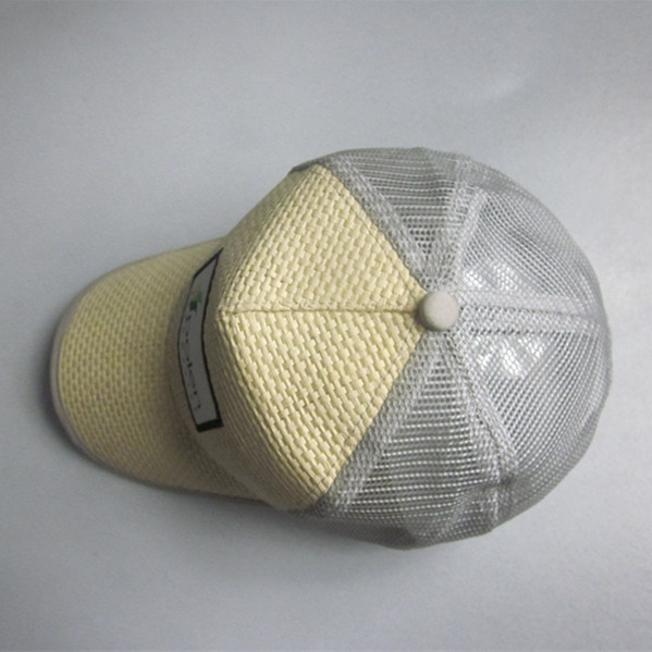 Straw Trucker Cap