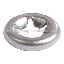 Metallzahnschnappklemmring oder -dichtung für elektrische Heizausrüstung