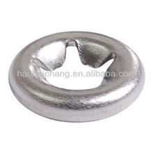 Tipo de dente de metal anel de fixação ou junta para equipamento de aquecimento elétrico