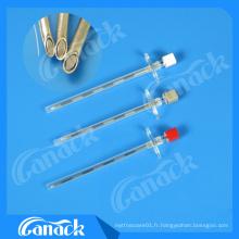 Aiguille épidurale d'aiguille d'anesthésie médicale