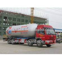 Jiefang 8*4 34.5m3 LPG Delivery Truck For Sale