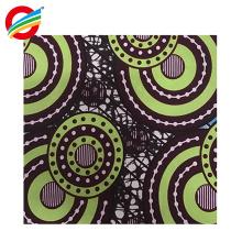 100% polyester véritable tissu africain super wax wax