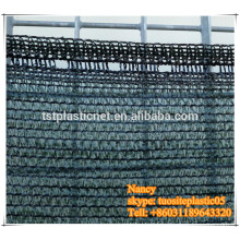 dark green ,black shade net fence for paintball