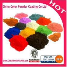Pintura en polvo de color metálico epoxi
