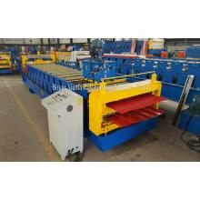 Double IBR and Corrugated Color Steel Roofing Sheet Roll Forming Machine
