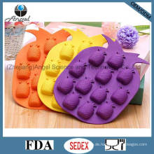 Heißer Verkaufs-Silikon-Frucht-Eis-Form-Würfel-Behälter-Schokoladen-Werkzeug Si06