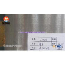 Intercambiador de calor tubo de Incoloy 800