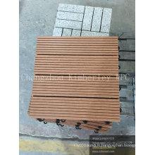 Plancher de Decking de bricolage composite coloré pour Patio