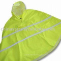 high visibility reflective safety rainwear