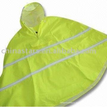Alta visibilidad reflectante de seguridad impermeable