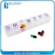 New type custom clear pill plastic box
