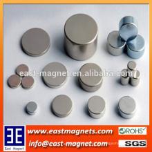 Kundenspezifische starke Scheibe gesinterter NdFeB Magnet / Berufsfabrikgewohnheit ndfeb Magnet