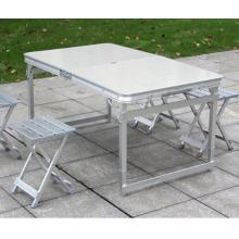 Производитель современный открытый кемпинг алюминиевый складной стол и стулья на продажу