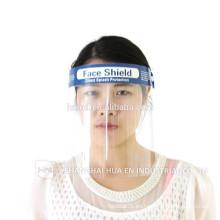 Protector médico disponible de la cara de la venta caliente / escudo anti-niebla de la cara con FDA estándar DMF05