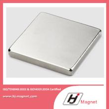 Aimant de bloc solide N35-52 néodyme haute puissance avec ISO9001 Ts16949