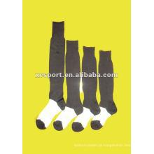 Moda soft homens futebol meia