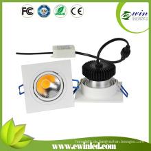 COB Powered LED Quadratisches Downlight