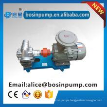 Industrial pump machine motor driven small motorized hydraulic pump asphalt pump