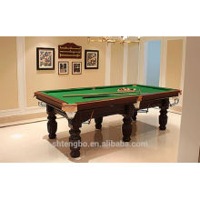 Economic 8ft MDF billiard table,classic type pool tables on sale
