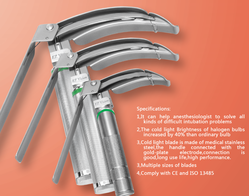 Medical flexible laryngoscope