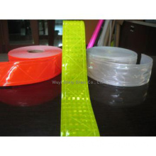 Lattice PVC tape for safety clothing, cheap reflective pvc tape