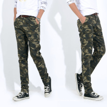 2016 Fashion Men′s Pant High Quality Green Camo Mens Casual Pants