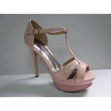 New Fashion High Heel Ladies Summer Sandals (HCY03-052)