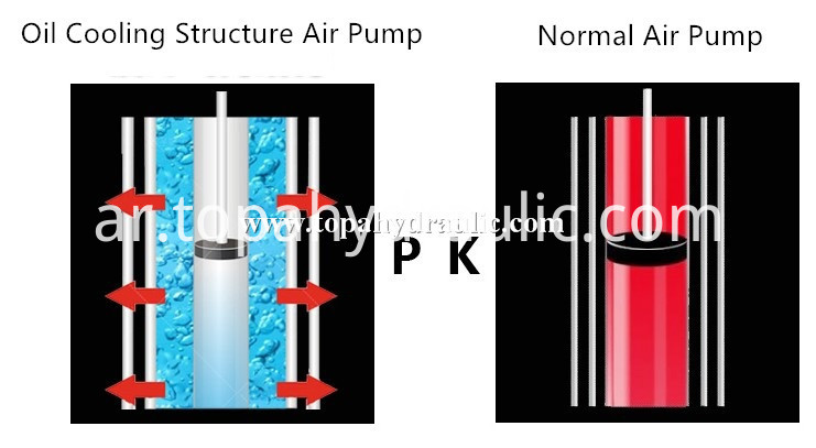 high pressure PCP hand air hunting pump