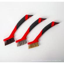 Red Car Detailing Brush Set, Car Detail Brush Kit