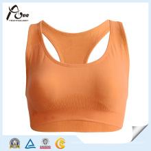 Damen Großhandel bunte Sport-BH-Fitness-Bekleidung