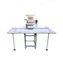 Máquina de bordar plana / tapa, QY-D Máquina de bordar computadora de una sola cabeza