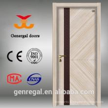 Porte de chambre en mélamine inodore de style classique