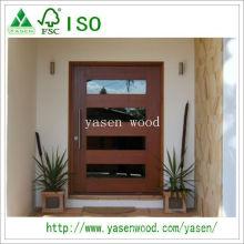 Porte pivotante en bois massif design populaire