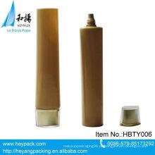 Vazio, oval, forma, pequeno, diâmetro, plástico, tubo