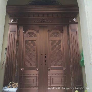 Real Copper Door Object (216)