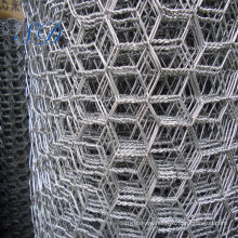 Galvanized/Pvc Electro Hexagonal Wire Mesh Facto